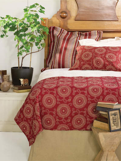 Skirts  on Bed Skirts Series  Finding The Right Bedskirt For Your Ruby Kilim Bed