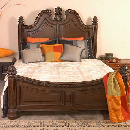 indian style bed