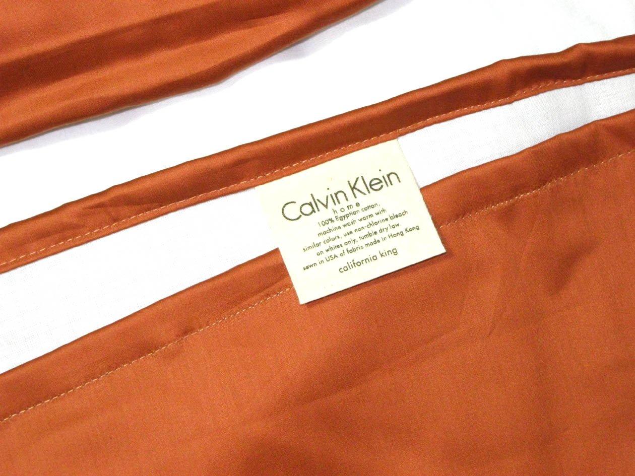 Orange Moroccan bedskirt