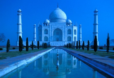 Moonlight on Taj Mahal photo