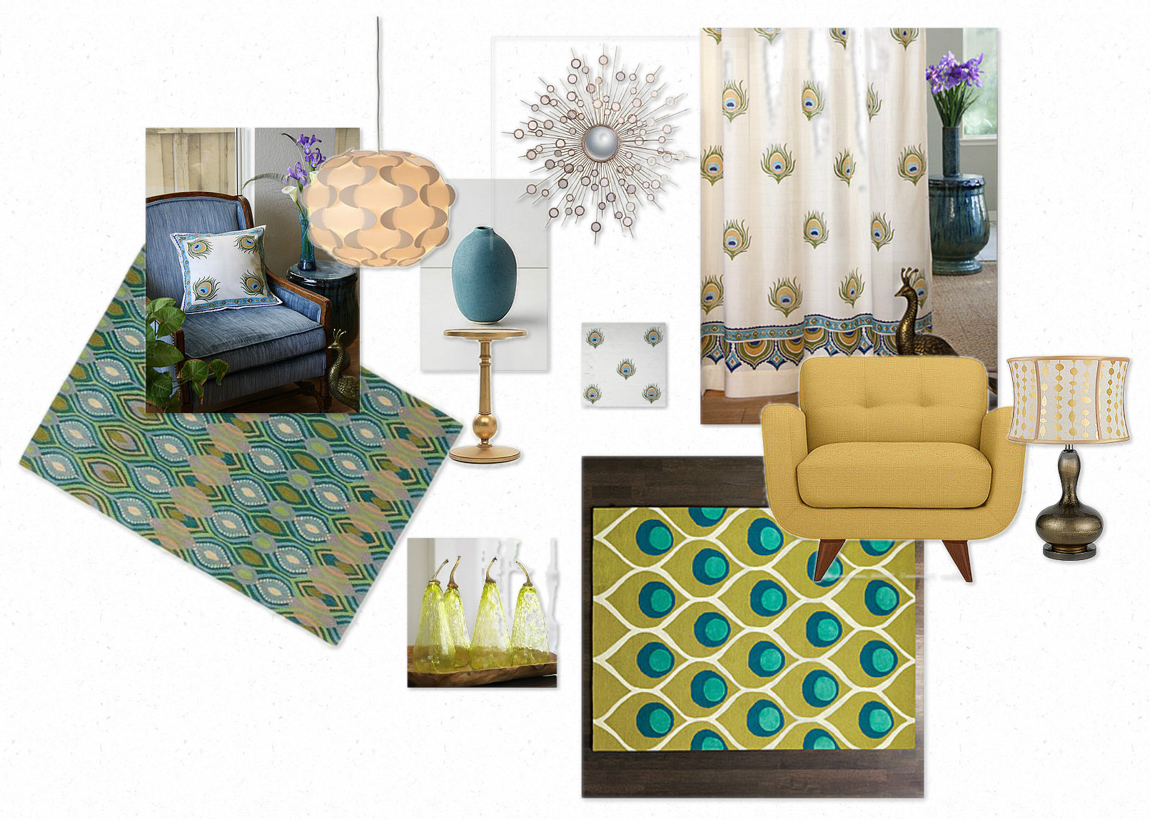 Peacock Home Decor set of dining room chairs Home Decorating Ideas