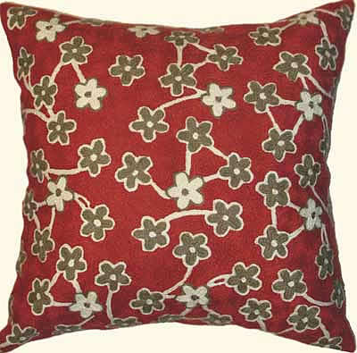 fair trade indian pillow
