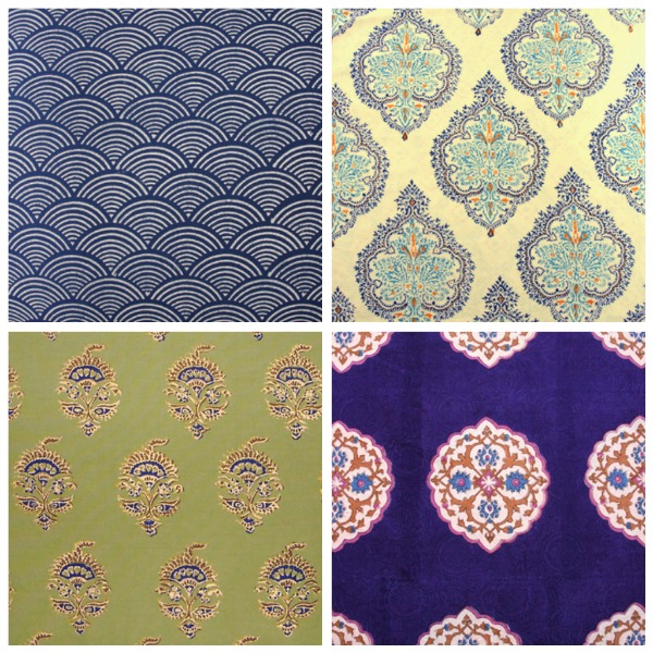 indian and moroccan fabrics