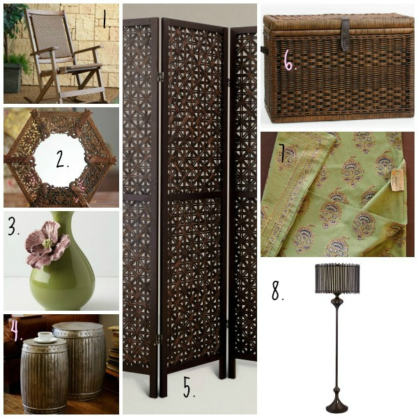 Spring Inspiration Board - the Zen Inspired Living Room