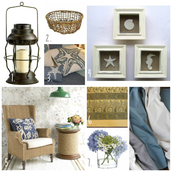Ideas for spring home decor using block print table linens and bedding