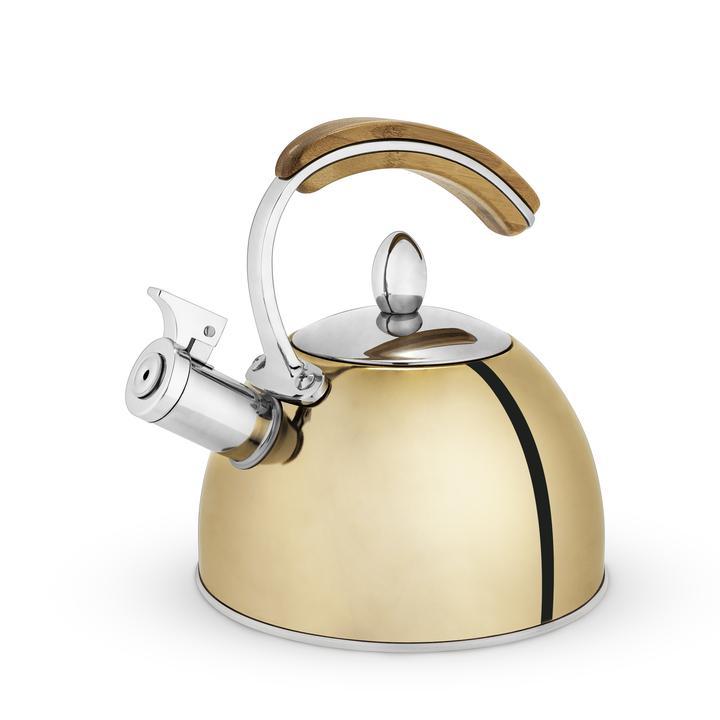 presley gold tea kettle