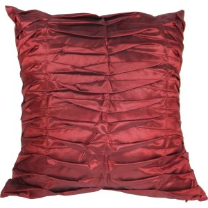 Burgundy throw pillow to coordinate with Spice Route