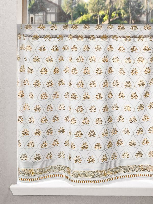 white and gold curtains, white and gold home decor