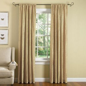 Gold Bedroom Curtains