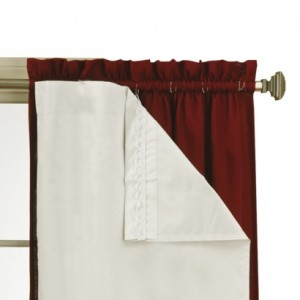 white curtain light blocking liner