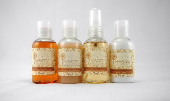 Bath and Body sampler set