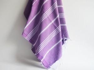 Purple Peshtemal towel, Etsy