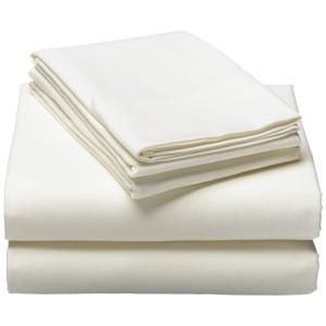 cream colored cotton sheets