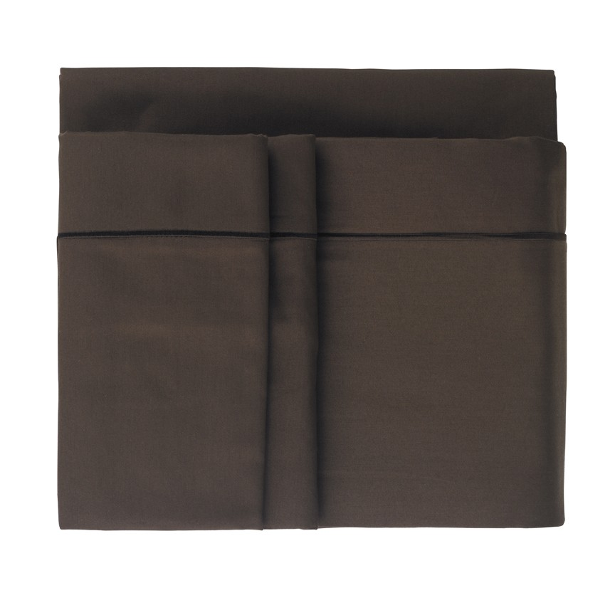 chocolate brown cotton sheets