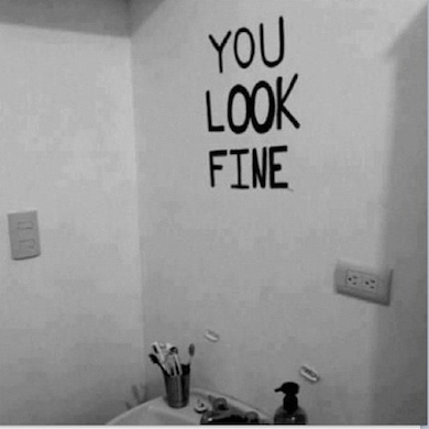 you look fine mirror
