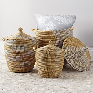 bath hampers and baskets