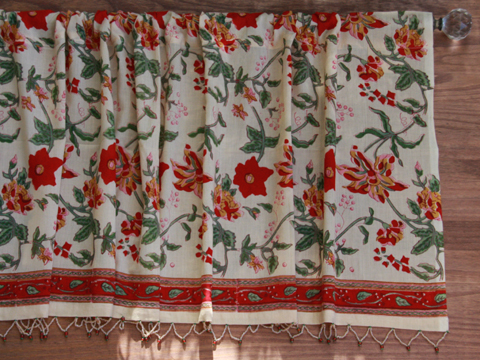 Tropical Garden Valance