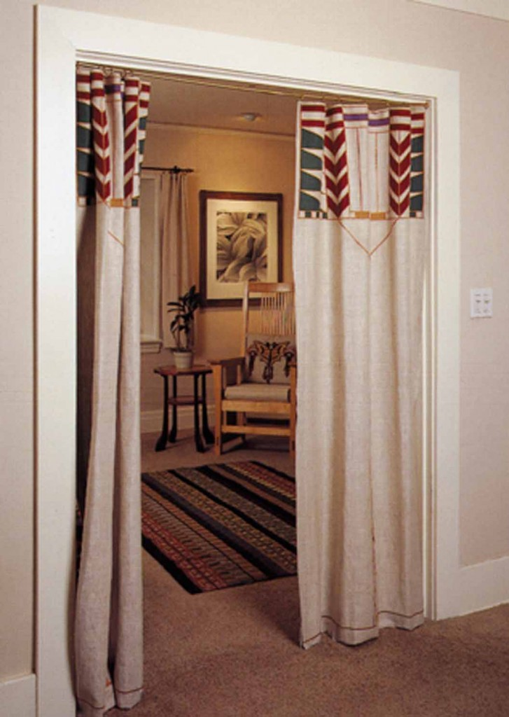 Ask the Designer: Using Curtains in Interior Doorways