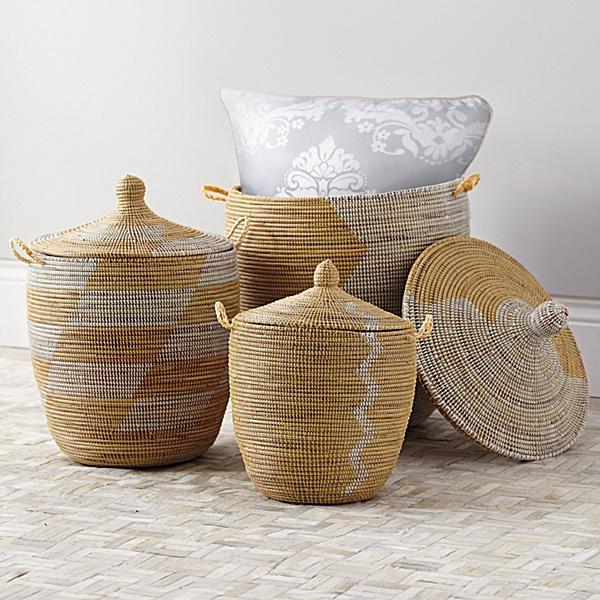 yoga storage baskets