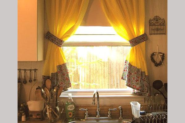 Купить шторы на кухню. . Фото штор для кухни - магазин ELEGANT (Киев)