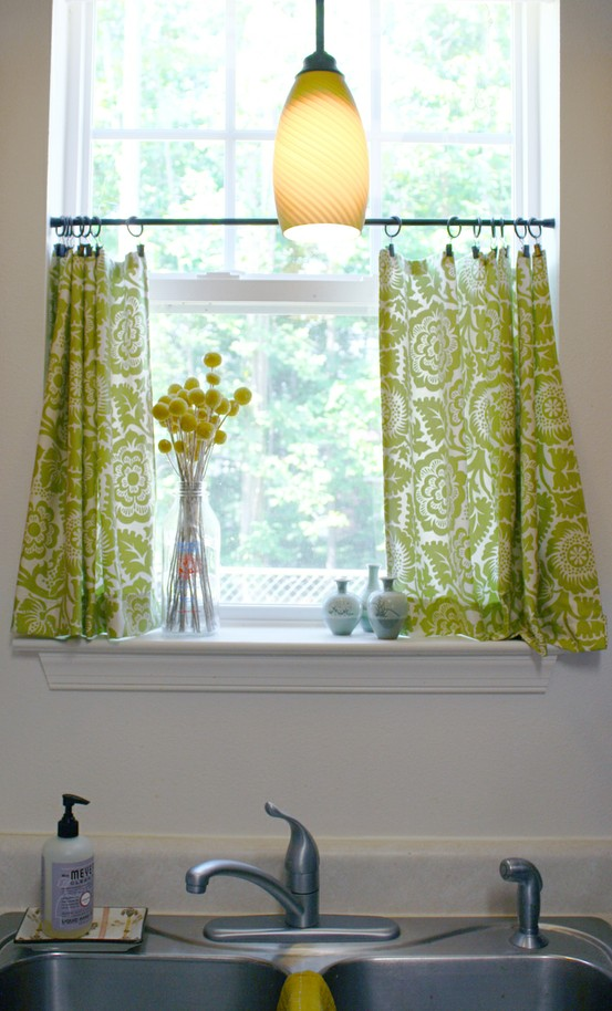 Kitchen curtains inspirational ideas Saffron Speak – Kitchen Valances Ideas