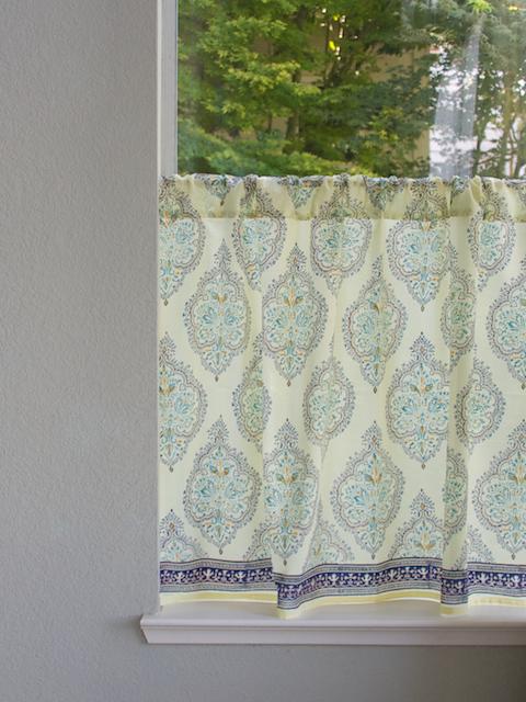 Kitchen curtains ~ inspirational ideas - Saffron Speak