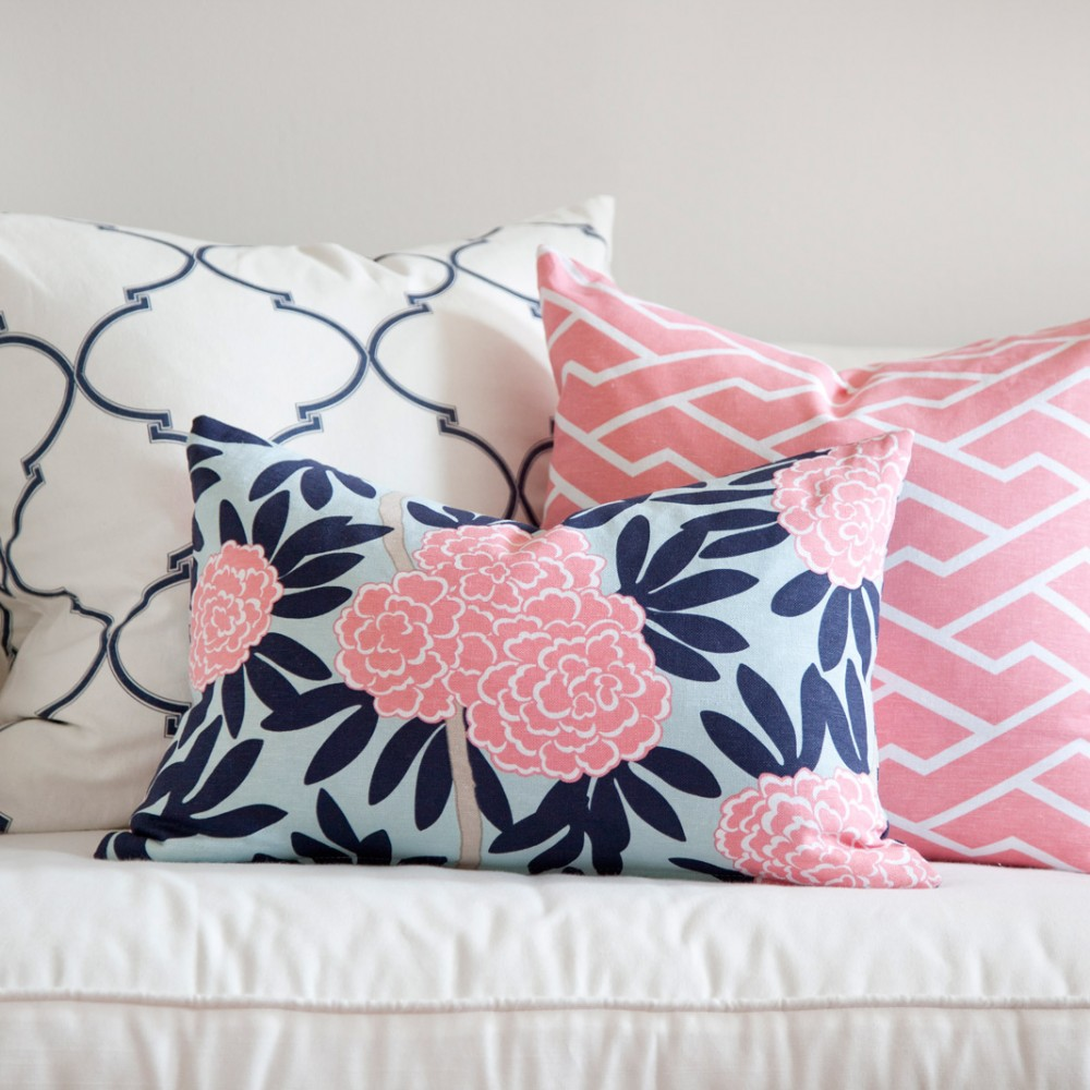 Ideas for Navy and Pink Valentines Day Bedroom Decor