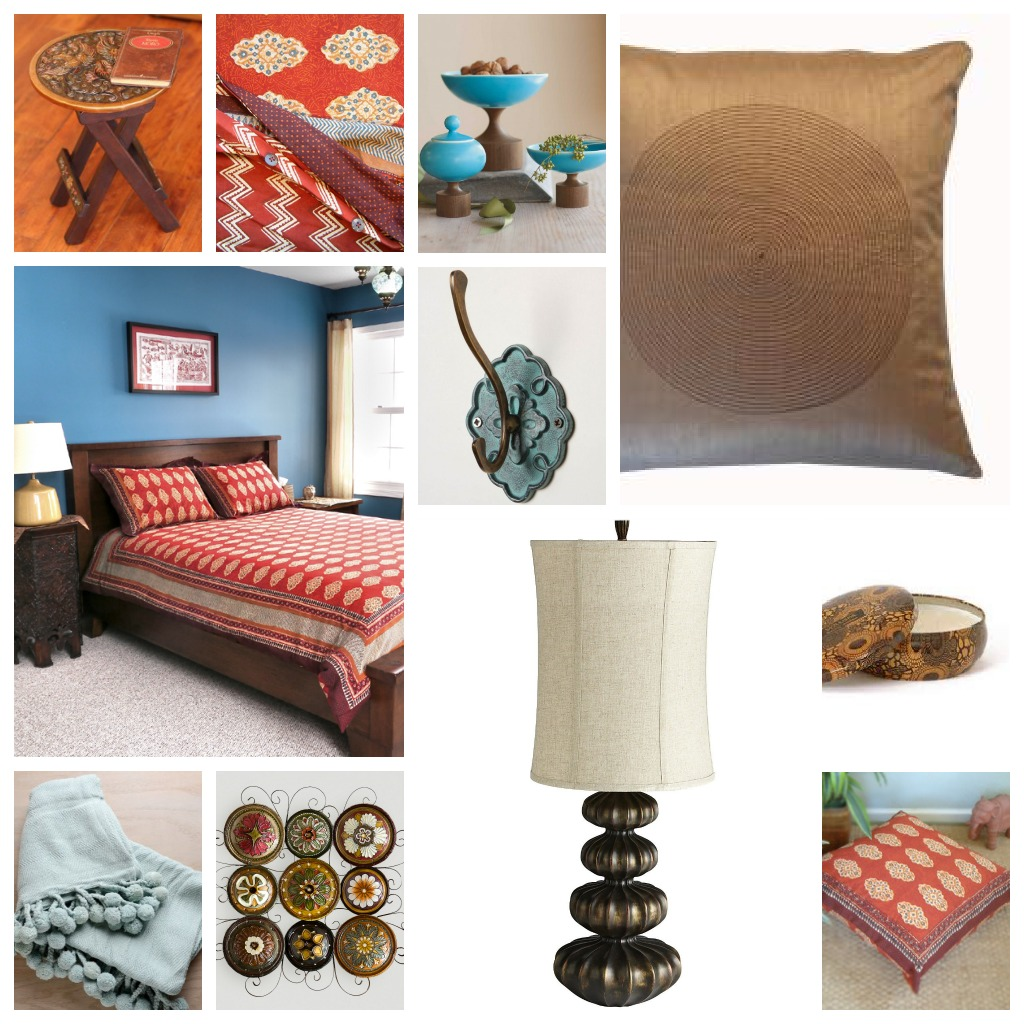 Create A Stunning Moroccan Bedroom With Spice Route Linens