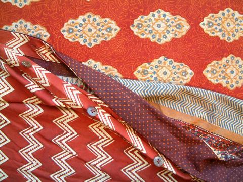 Spice Route Moroccan duvet