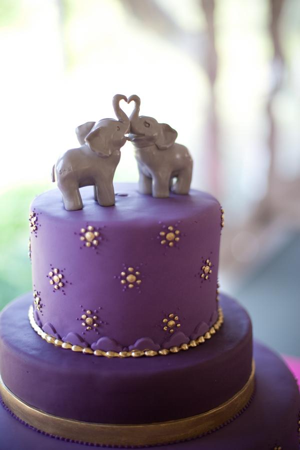 Elephant cake toppers - so cute!