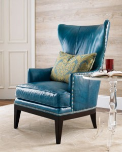 Donovan Wing Chair, Horchow