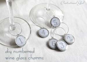 DIY Wine Glass Charms - Centsational Girl