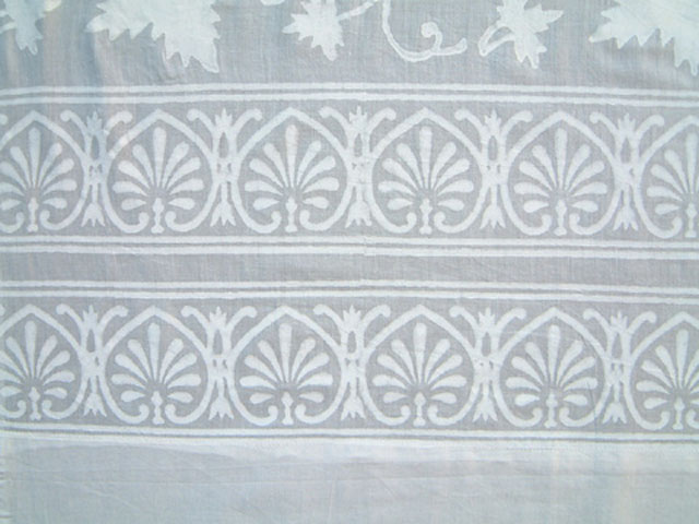 Ivy Lace curtains - border detail