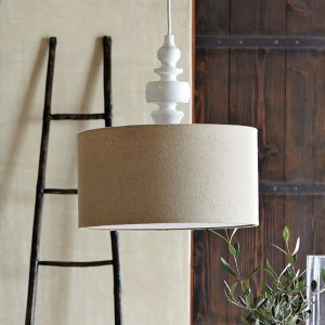 Turning pendant, West Elm