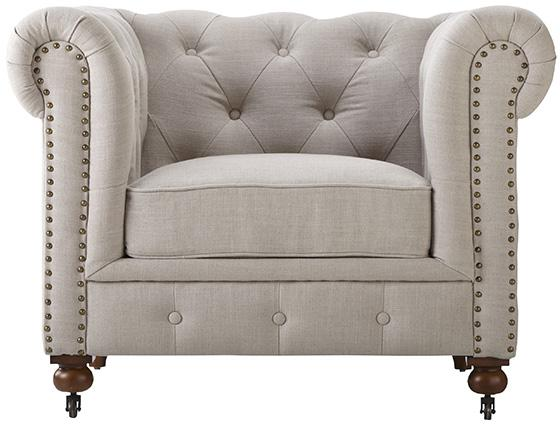 Gordon Tufted chair, Home Decoration