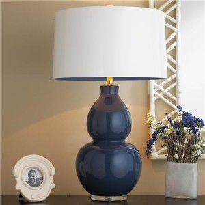 Pop of Color Ceramic Table Lamp - Shades of Light