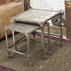 Industrial Steel Nesting Tables (India) - Overstock