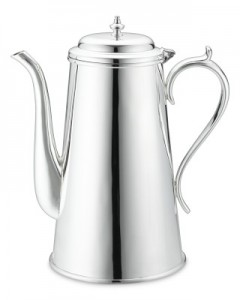 Presidio Silver Plated Tea Pot - Williams and Sonoma