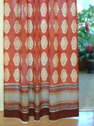 Spice Route Curtain Panel