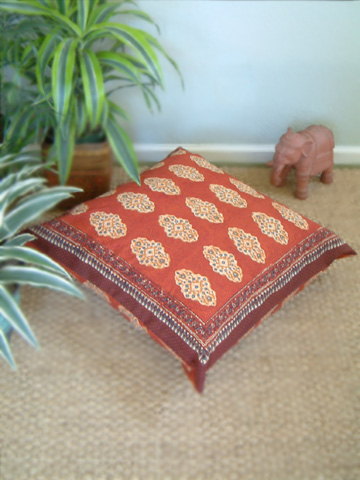 Spice Route Euro Pillow Sham cover