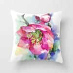 Cherry Blossom Pillow, Society 6