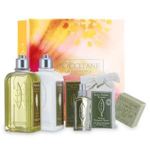 Verbena scented essential oils, Loccitane