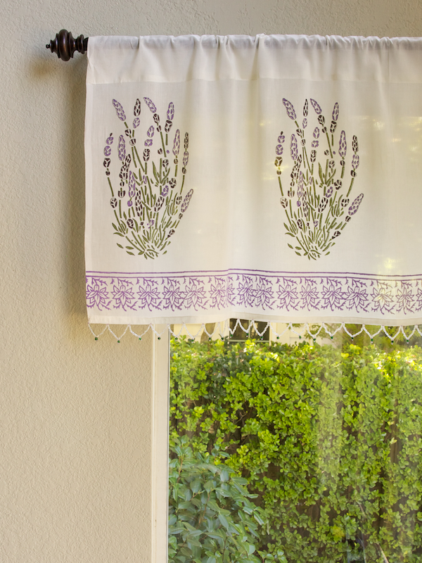 Lavender Dreams Valance