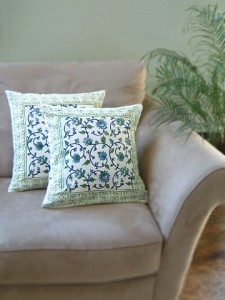 Moonlit Taj Accent Pillow