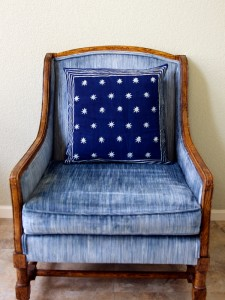Starry Nights (c) print Accent Pillow