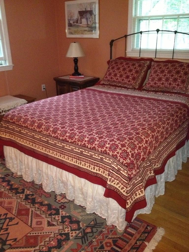 Ruby Kilim bedspread