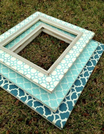 426 distressed moroccan frames etsy