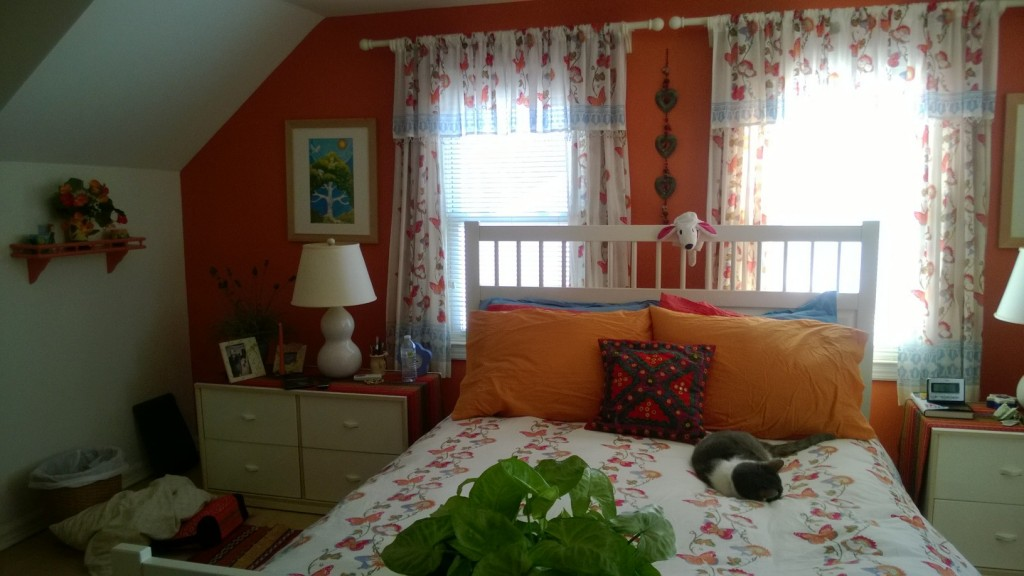 Chasing Butterflies curtains and bedspread