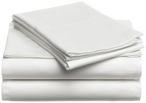 Egyptian cotton sheet set, Eggshell