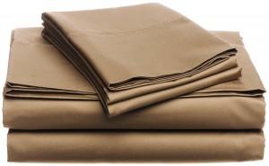 Egyptian Cotton Sheet set, Chestnut